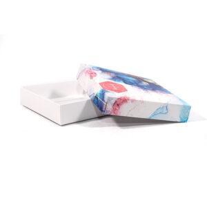 Cajas cartulina cuadrada base + tapa