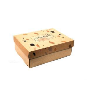 Cajas con base microcorrugado tapa clásica