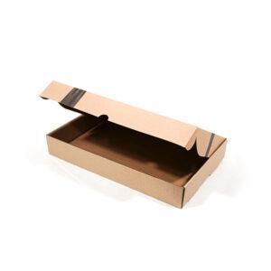 Cajas con base microcorrugado + tapa con aleta